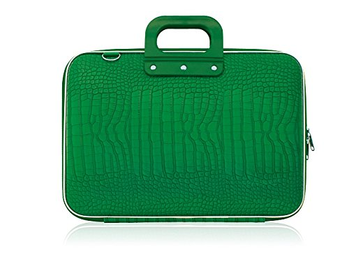 bombata-croc-15-inch-laptop-bag-one-size-emerald-green