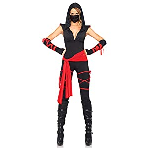 Halloween 5 Piece Deadly Ninja Costume