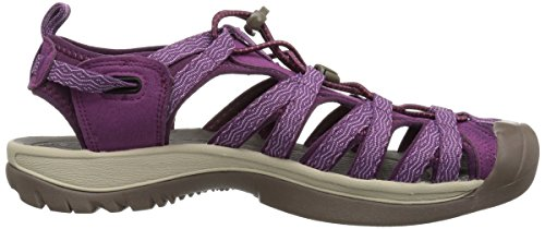 para de Mujer Whisper Kiss Wine Grape Keen Senderismo Sandalias Grape 0 Morado 6EUqTII