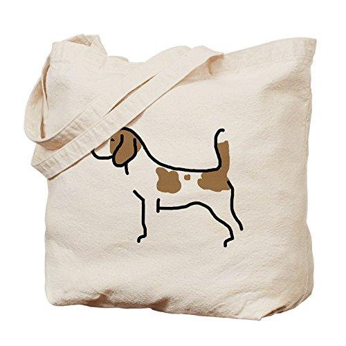 CafePress Beagle–II–Gamuza de bolsa de lona bolsa, bolsa de la compra