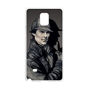 zZzZzZ Sherlock Shell Phone For Samsung Galaxy Note 4 Cell Phone Case