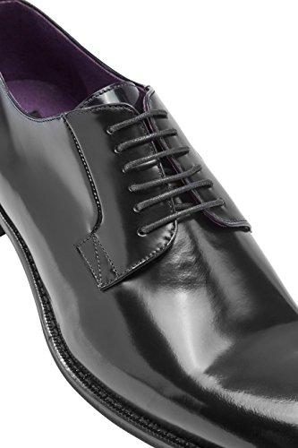 next Hombre Zapatos derby muy brillantes Signature Corte Regular Negro