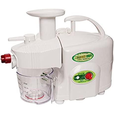GREEN POWER KEMPO KP E1304 Nomadics Standard Premium Twin Gear Slow Juicer Green Fruit Extractor Double Gear White Standard Type
