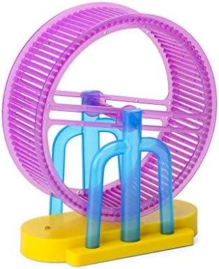 minansostey 1Set LED Light Music Hamster Wheel Roller Electric Toys for Children Kids Education Learning Toys