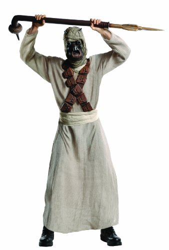Halloween Costume Raider Tusken (Rubie's Costume Star Wars Deluxe Tusken Raider Adult, Multicolor, Standard)