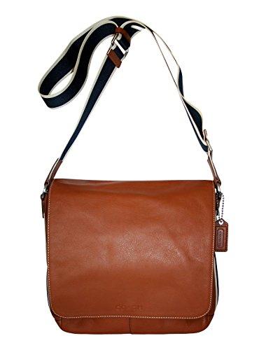 Coach Heritage Saddle Leather Messenger
