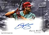 2013 Bowman Inception #RA-DR Darin Ruf Certified Autograph Baseball Rookie Card