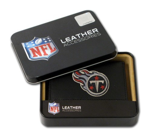 Rico Tennessee Titans Embroidered Tri Fold Wallet by Hall of Fame Memorabilia