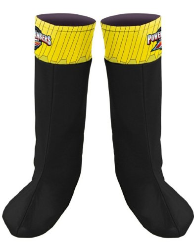 Black Ranger Boot Covers -