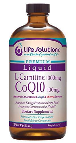 Life Solutions – Liquid CoQ10 with L-Carnitine 16Oz.