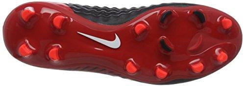 Nike Magista Onda II DF FG, Scarpe da Calcio Uomo Multicolore (Noir/Rouge Université/Cramoisi Brillant/Blanc)