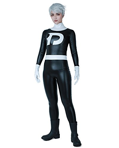 (Cosplay.fm Men's Danny Fenton Cosplay Costume Bodysuit (Men)