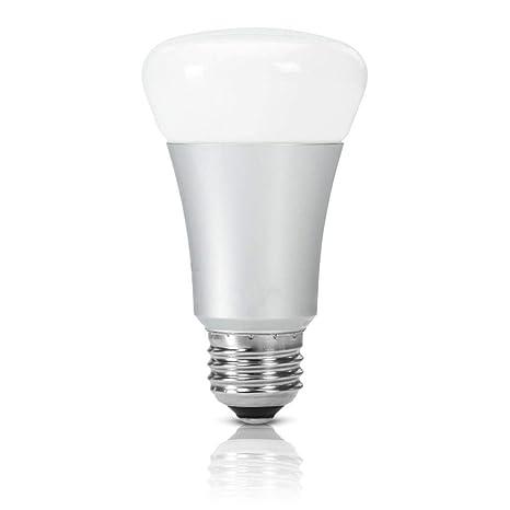 Bombilla Inteligente LED WiFi Lámpara, (7.5W, E27) LED Multicolor WiFi Smart