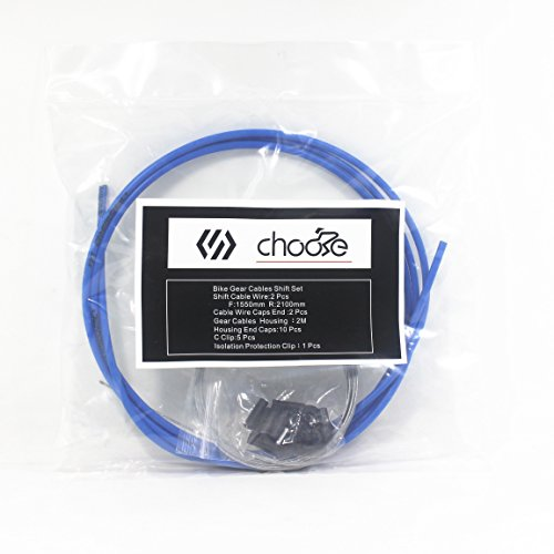 Chooee Shifter Cable Housing Kit Road Bicycle Mountain (Shifter Cable Housing)