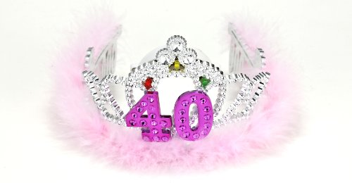 - Forum Novelties Flashing Birthday Tiara #40 Novelty Item