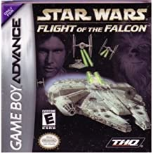 STAR WARS VIDEO GAME STAR WARS FLIGHT OF TH FALCON VIDEO GAME (GAME BOY ADVANCE VERSION) (FOR GAMEBOY ADVANCE HANDHELD, 2003VERSION) (MINI-CARTRIDGE VIDEO GAME ONLY)