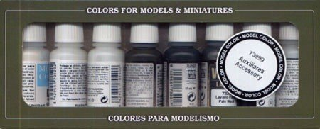 Vallejo 8 Auxiliary Set Game 17ml Paint