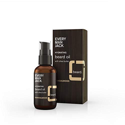 (Every Man Jack Beard Oil, Sandalwood, 1.0-ounce)