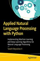Applied Natural Language Processing with Python Front Cover