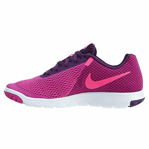 night maglietta Tailwind Pink neck white v Nike Pink maniche Purple corte Hyper Fire donna nPIZwq