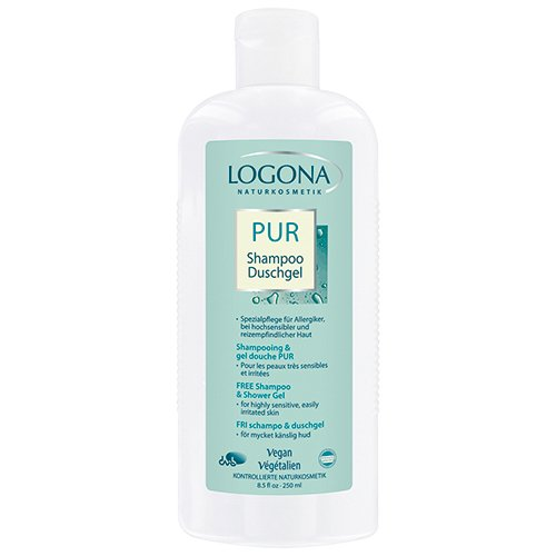 Lagona Free Shampoo and Shower Gel, 8.5 Ounce (Care Body Logona Natural)