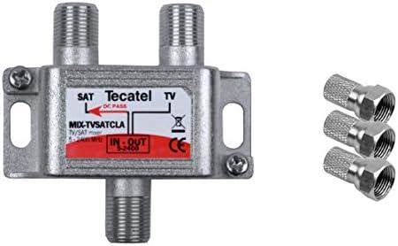 Tecatel TV Satélite - Mezclador de señal satélite y ...
