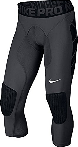 Nike Mens Hyperstrong Baseball Slider Tights Pants, Anthracite, S by NIKE