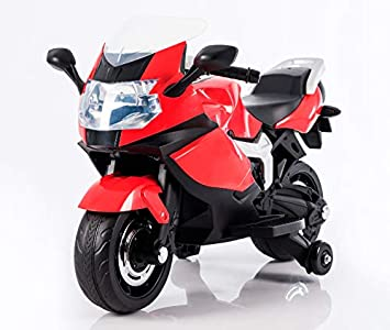 BC BABY COCHES Moto eléctrica niños KS1000 (Rojo)