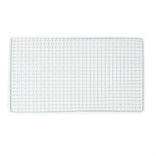 ASDOMO 1pcs Non-stick Barbecue Grill BBQ Net Wire Mesh Stainless Steel Outdoor Picnic(38*50cm) (Hamburger Broiler Oven compare prices)