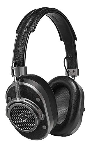 MH40 Over Ear Headphone- Silver/Navy