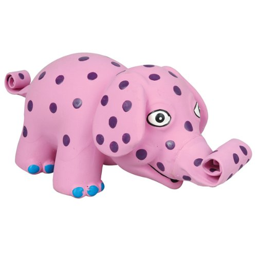Squeeze Meeze Toy – Elephant – 8″ L x 3 1/2″ H, My Pet Supplies