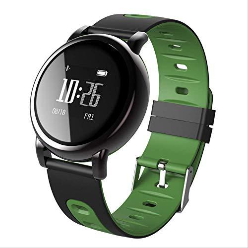 KKARTSmart Watch Tracker Black Technology Smart Bracelet Bluetooth Wearable Sports Watch Silicone Strap Health Pedometer Anti-lost Green