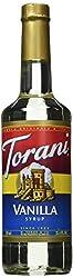 Torani® Vanilla Syrup (750 Ml 25.4 Oz )