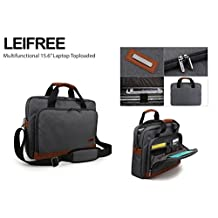 Miracase Multifunctional Backpack for Macbook Pro, Macbook Air and Laptops up to 15.6 Inches (LEIFREE)