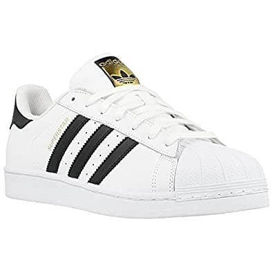 14b94053b244e Adidas - Superstar - Color  Blanco-Dorado-Negro - Size  48.6  Amazon.es   Zapatos y complementos