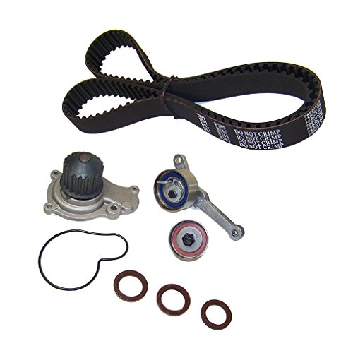 Cheap DNJ TBK151WP Timing Belt Kit with Water Pump for 1995-2002 / Chrysler, Dodge, Jeep, Plymouth/Breeze, Cirrus, Grand Caravan, Grand Voyager, Liberty, PT Cruiser, Sebring, Stratus, Voyager / 2.4L hot sale