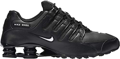 Nike Men's Shox NZ Running Shoe Black/White-black - 12.5 D(M) US