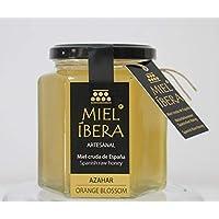 Miel de Azahar cruda cosecha 2018, artesanal de España, sin mezclar y sin pasteurizar, Gourmet (Azahar 500 gr)