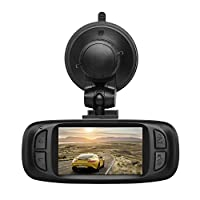 "AUTO-VOX D2 PRO 2.7"" LCD Upgraded Dash Cam Full 1080P Parking Mode 135 Degree Wide Angle Car Recorder DVR with WDR, G-Sensor & Loop Recording"