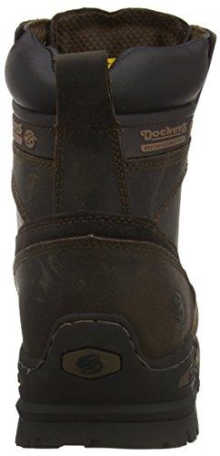 Dockers 27YN006 - Botas de cuero para hombre marrón - Braun (cafe 320)