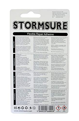 Stormsure Clear trasparente 5 flessibile nbsp;grams nbsp;x riparazione colore adesiva 3 rrwFAdq