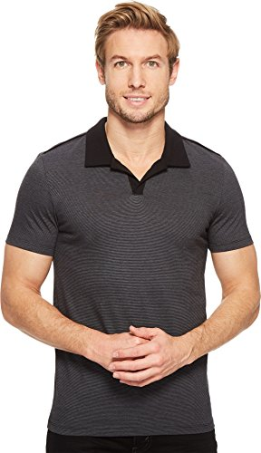 Calvin Klein Men's Slim Fit Short Sleeve Liquid Jersey Po...