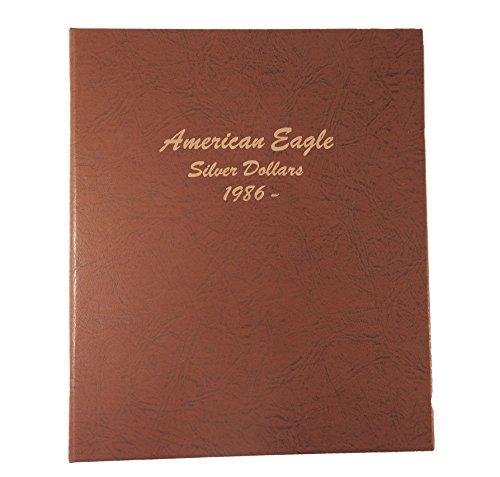 Dansco US American Silver Eagle Coin Album 1986 to Date #7181 (American Eagle Dollars Silver)