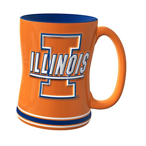 Illinois Fighting Illini Sculpted 14 ounce product image