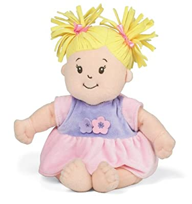 Manhattan Toy Baby Stella Blonde Hair Soft Nurturing First Baby Doll | Popular Toys