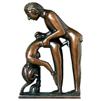 Etonnant Toperkin Erotic Statue Nude Couple Figurines Home Decor Naked Sculpture  Bronze Statues TPE 989