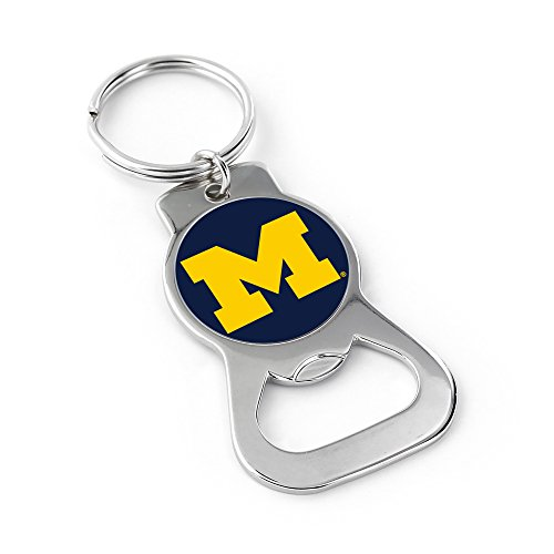 NCAA Michigan Wolverines Bottle Opener Key Ring