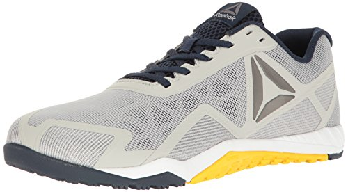 Reebok Men's Ros Workout TR 2.0 Cross-Trainer Shoe, Skull Grey/Collegiate Navy, 10.5 M US (Shoes 2 Athletic Adult)