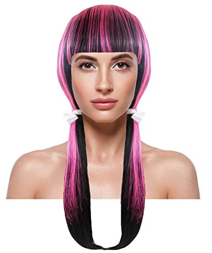 Wig for Cosplay Monster High Draculaura Wig I HW-1870]()