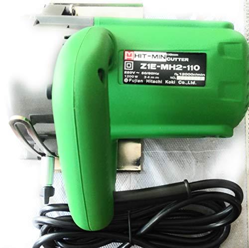 Hit Min Z 1E-MH2-110 110 mm 1200-Watt Cutter (Green) 1